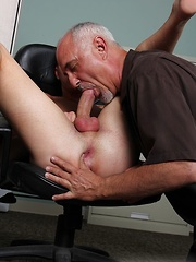 Kyler Ash Serviced by Jake Cruise